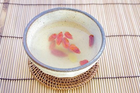 クコの実はちみず柚子茶