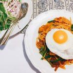 カルディのナポリタンパスタソースで再現する懐かしい昭和のスパゲッティ