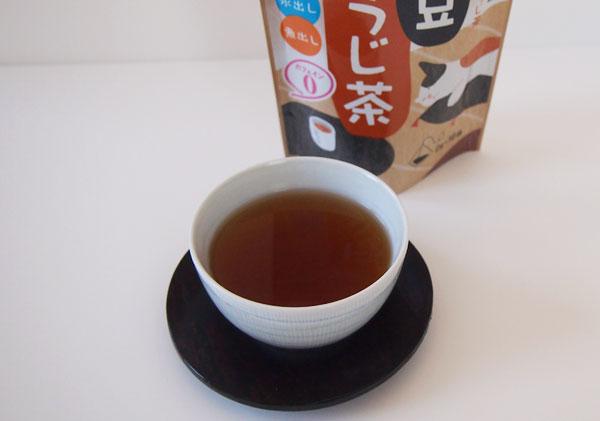 カルディで販売されている「がんこ茶屋 黒豆ほうじ茶 ティーバッグ」