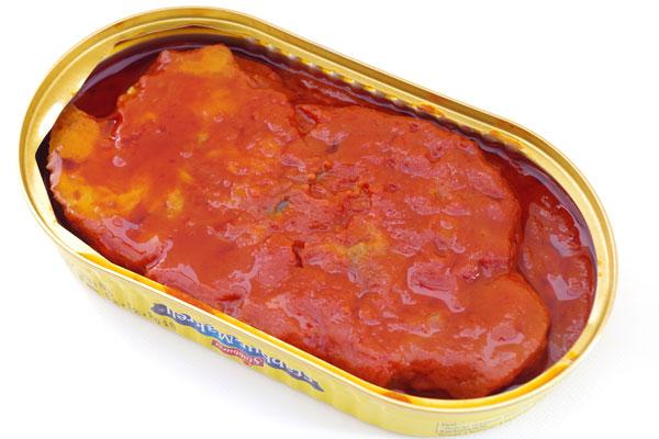 スタブラサバフィレ(鯖のトマトソース煮)