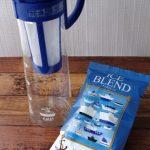 カルディの水出し珈琲ポットと焙煎コーヒー粉によるおいしい水出しコーヒーのかんたんな作り方