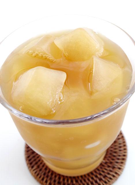凍らせた瀬戸内レモンティーを氷代わりに