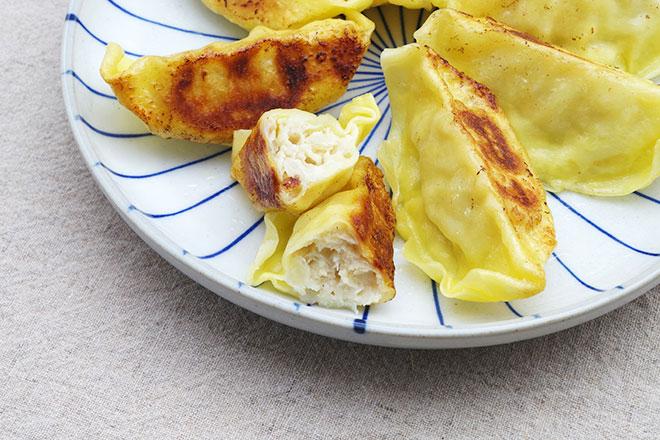 カルディ「レモン入り餃子」のおいしい焼き方