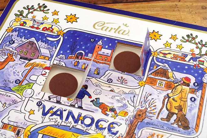 カーラチョコカレンダー