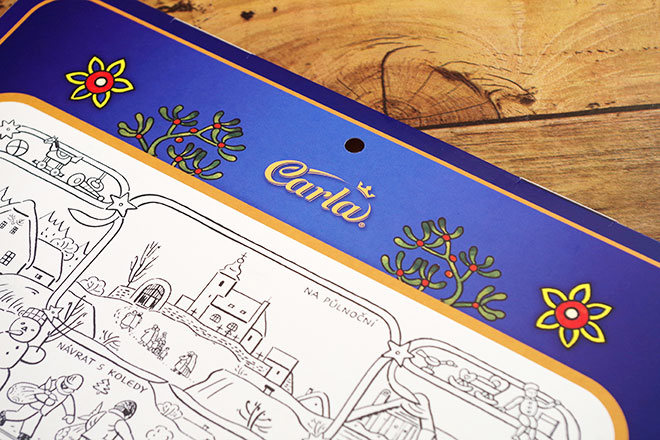 カーラ チョコカレンダー