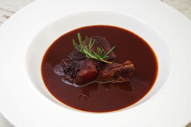 熱湯で加熱しても牛ホホ肉の柔らかさはかわりありません