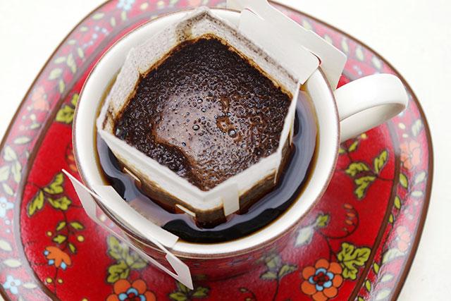 カップオンタイプのドリップバッグコーヒーの美味しく作るコツ