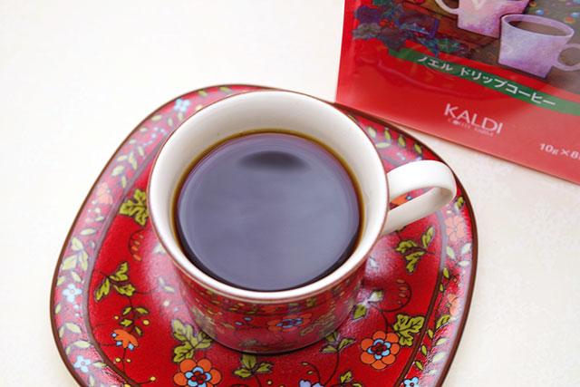 クリスマス・スイーツとの相性もピッタリな「ドリップコーヒー ノエル」!
