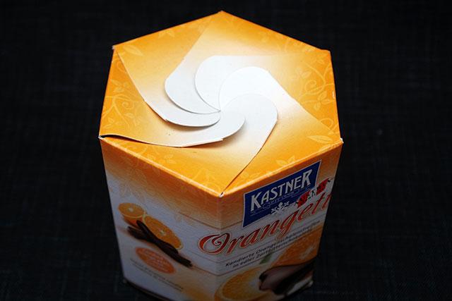 カストナー オランジェットの箱