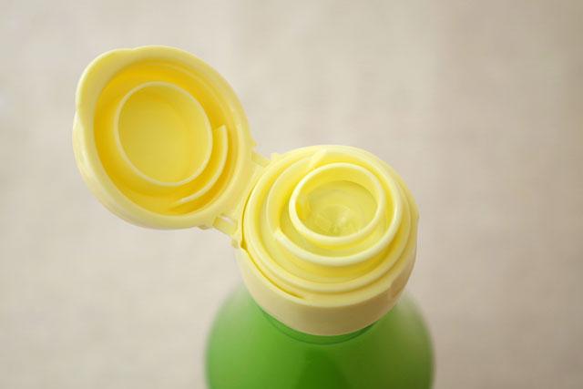 「ゆず果汁100%」はコンパクトで使いやすい