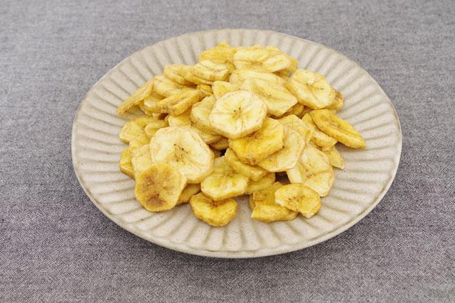 カルディのさくさくバナナチップス